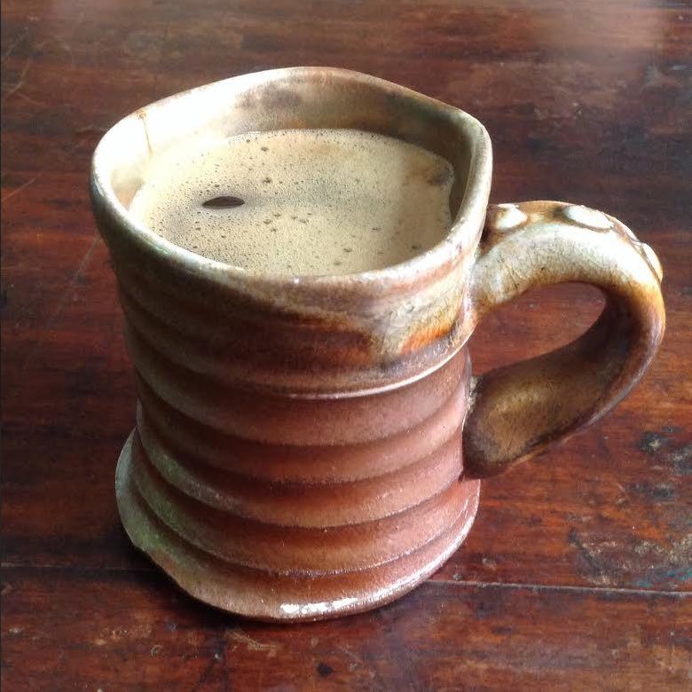 anagama mug, Darryl Frost mark for GALLERY Frost310