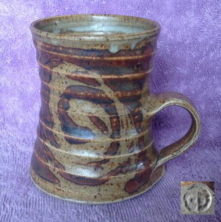 Don Thornley mug and vase. And another mug, and another Thornl10