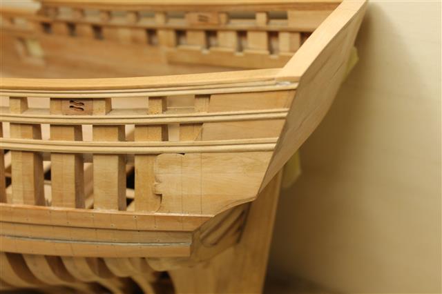 La Belle 1684 scala 1/24  piani ANCRE cantiere di grisuzone  - Pagina 4 Img_7510