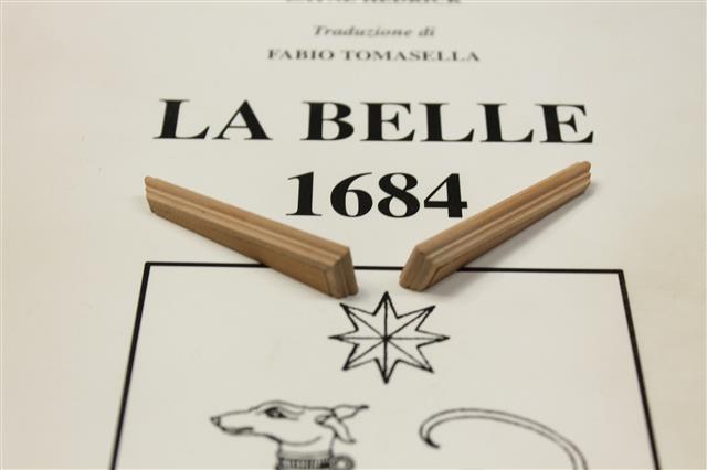 La Belle 1684 scala 1/24  piani ANCRE cantiere di grisuzone  - Pagina 4 Img_7712