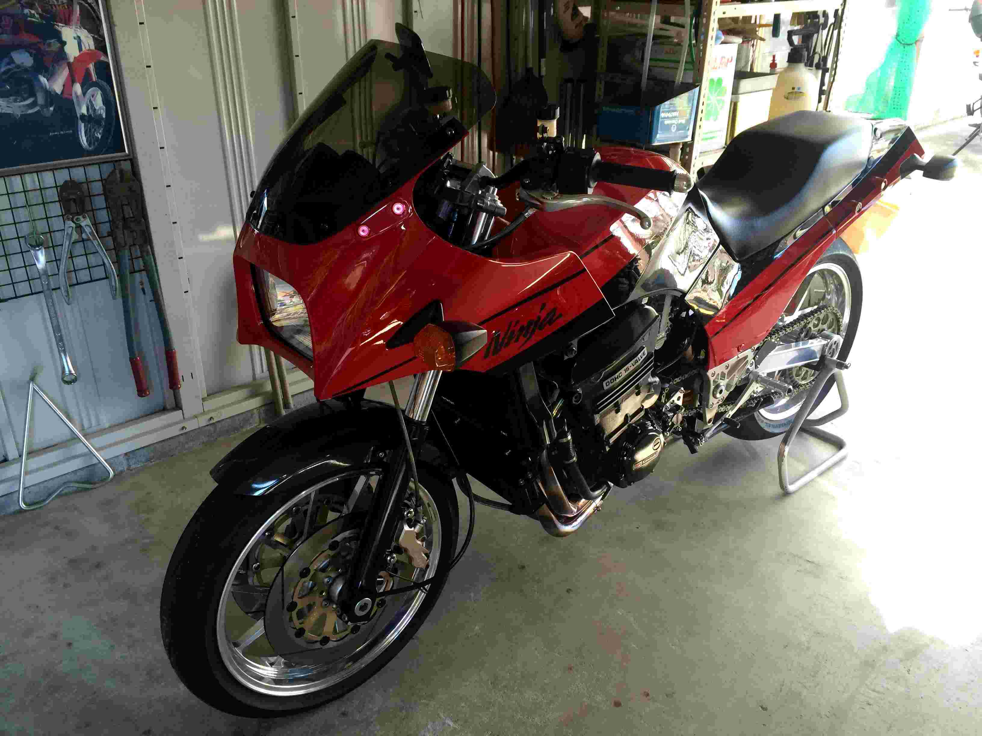 Kawasaki GPZ-R 900 et 750, 1000 RX, ZX 10 TOMCAT - Page 6 Img_4710