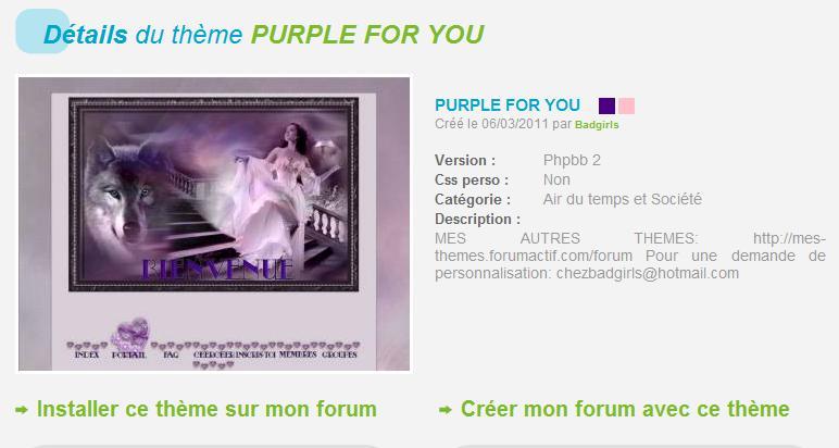 THÈMES INCLASSABLES  Purple10