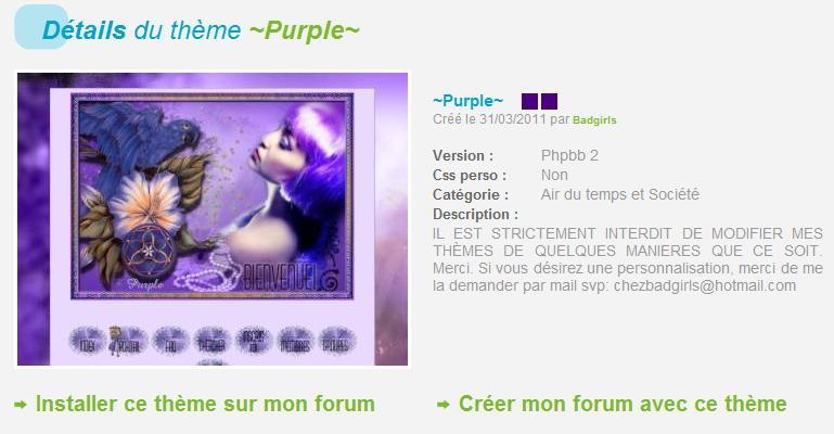 THÈMES INCLASSABLES  Purple11