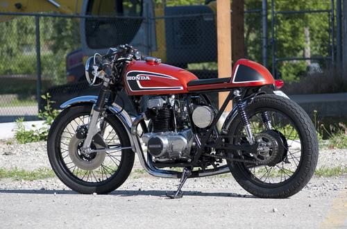 SPLENDIDE : 1972 Honda CB350K4 C10