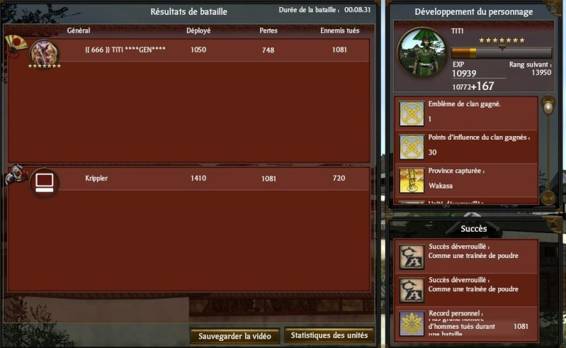 victoires sur shogun 2 Victoi51