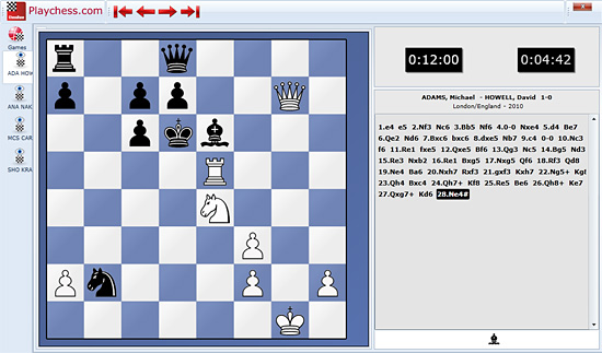 London Classic – follow it live in your browser Chessl10