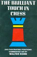 "Korn ""The Brilliant Touch in Chess"" (ENG, 1966) Korn-b10"