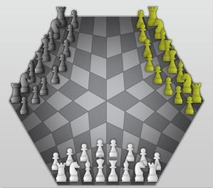 Play Three Chess for  Three player Three_10