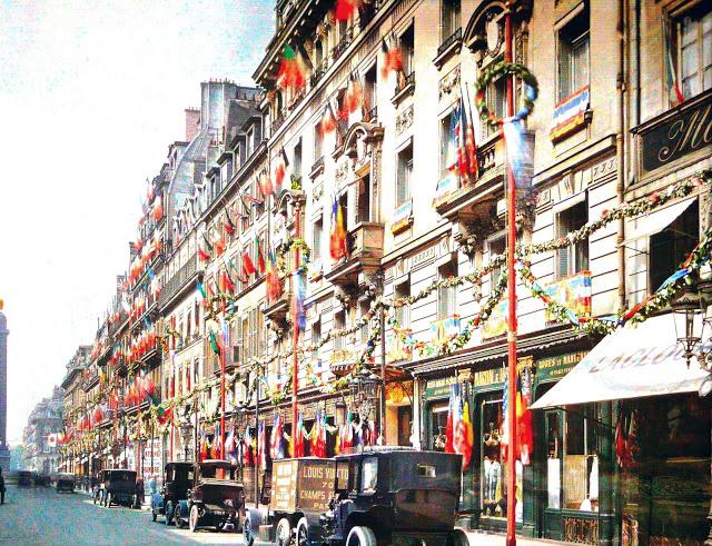Le Paris des années 14 en couleur. Parisi10