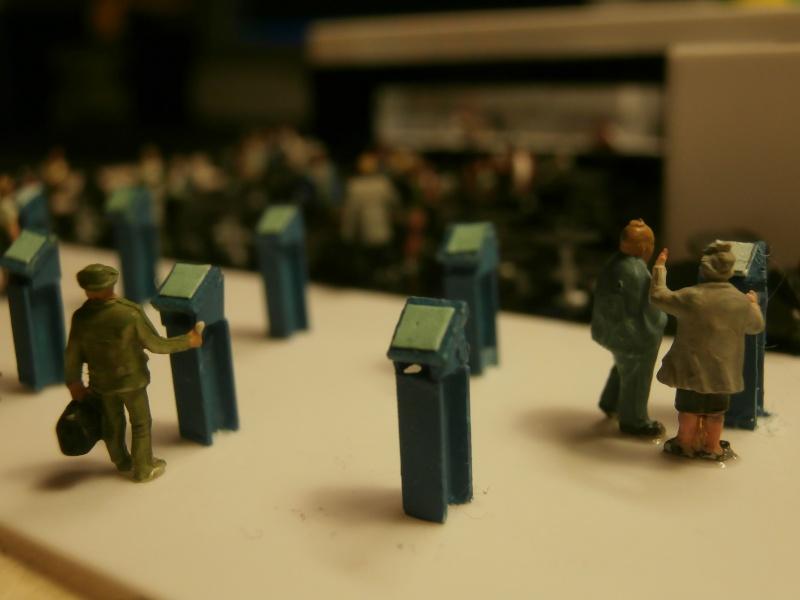 Réalisation de la maquette d'un Aéroport International (scratch) 1/144ème Cafe_n10