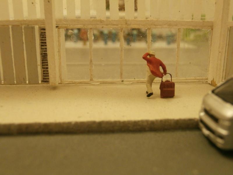 Réalisation de la maquette d'un Aéroport International (scratch) 1/144ème Detail11