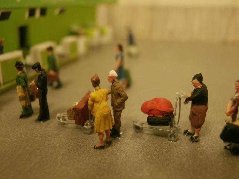 Réalisation de la maquette d'un Aéroport International (scratch) 1/144ème Detail13