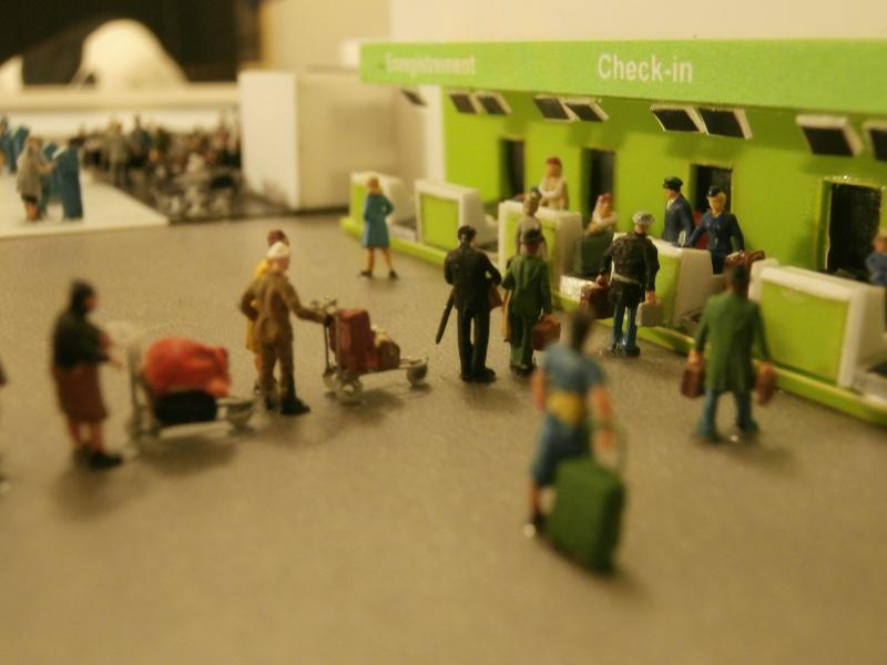 Réalisation de la maquette d'un Aéroport International (scratch) 1/144ème Detail14