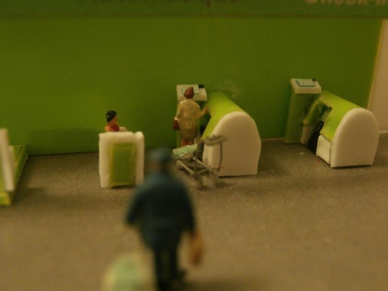 Réalisation de la maquette d'un Aéroport International (scratch) 1/144ème Detail20