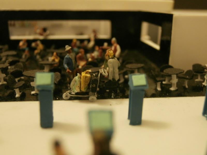Réalisation de la maquette d'un Aéroport International (scratch) 1/144ème Detail22