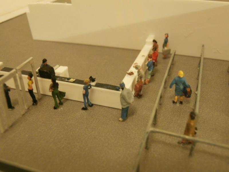 Réalisation de la maquette d'un Aéroport International (scratch) 1/144ème Detail25