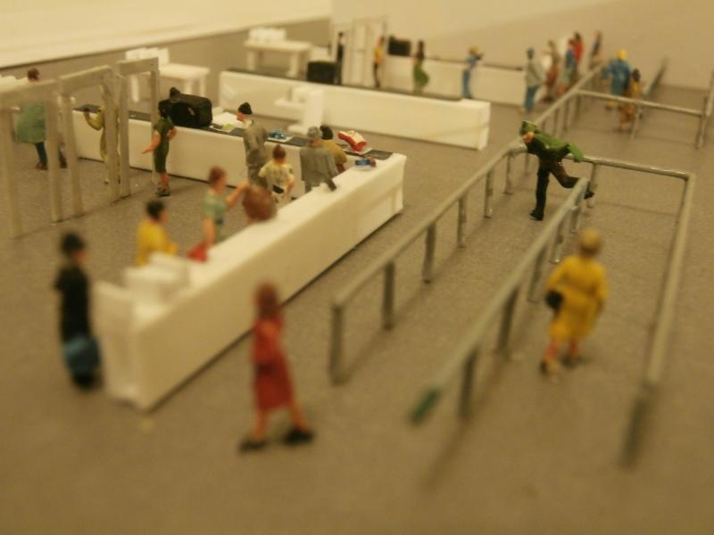 Réalisation de la maquette d'un Aéroport International (scratch) 1/144ème Detail26