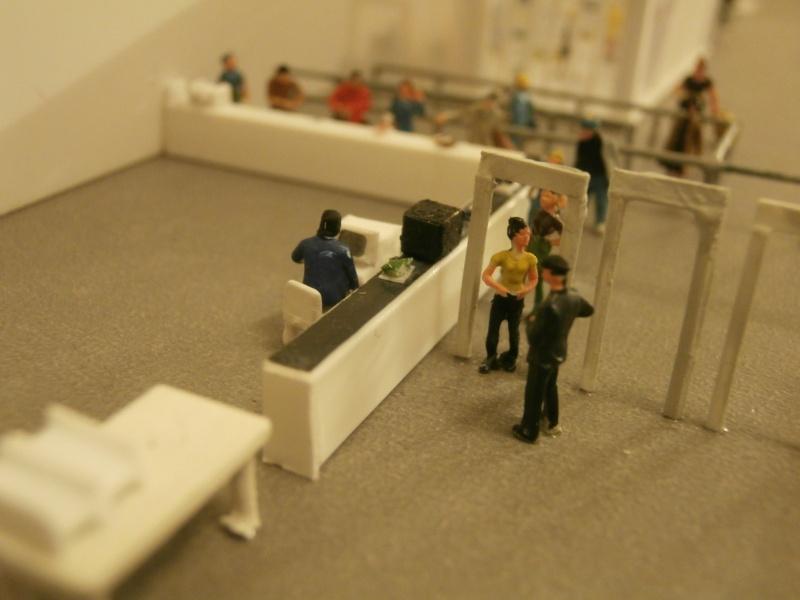 Réalisation de la maquette d'un Aéroport International (scratch) 1/144ème Detail32