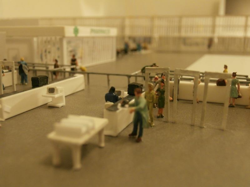 Réalisation de la maquette d'un Aéroport International (scratch) 1/144ème Detail42