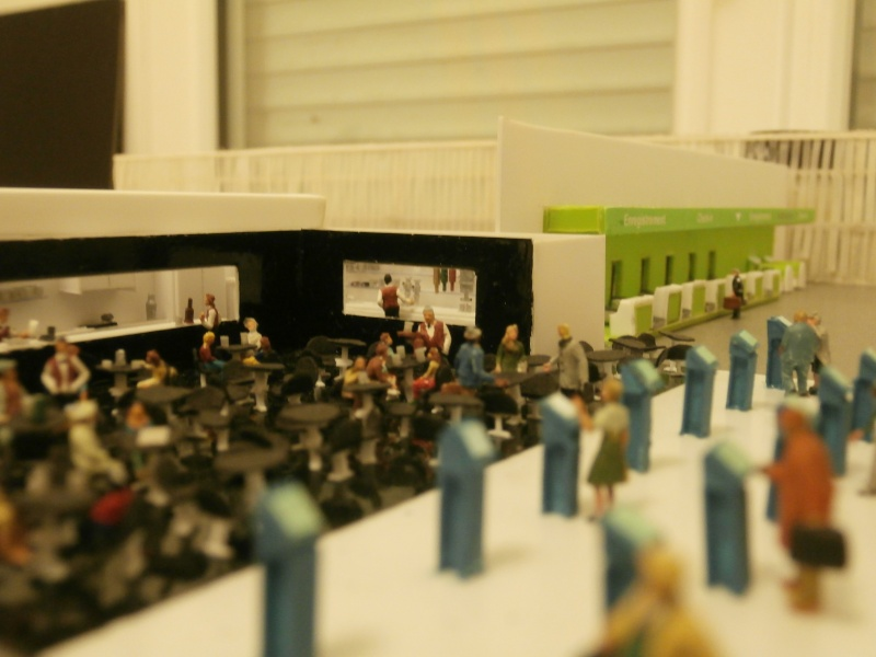 Réalisation de la maquette d'un Aéroport International (scratch) 1/144ème Enregi10