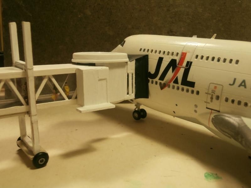 Réalisation de la maquette d'un Aéroport International (scratch) 1/144ème Gaine_11
