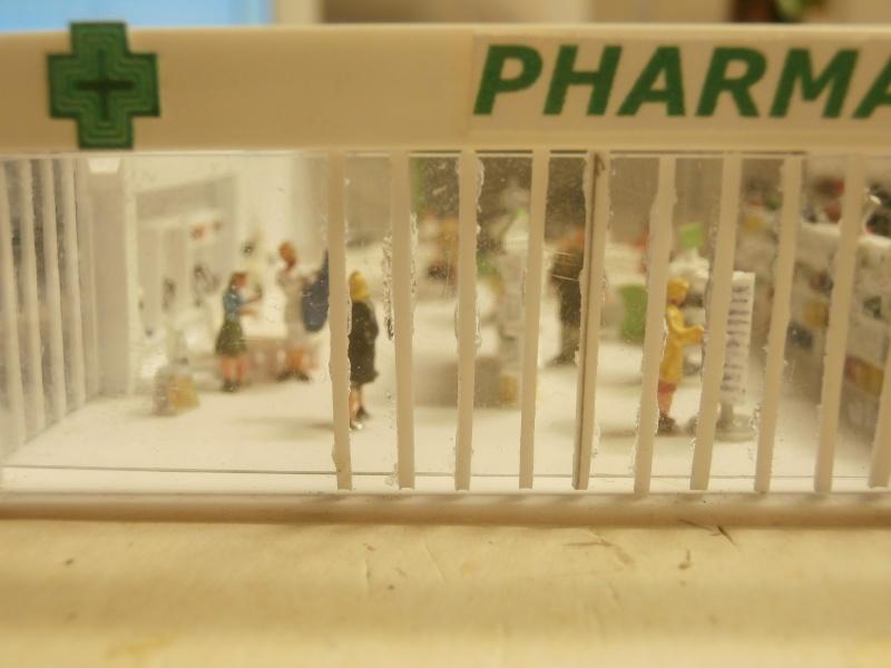 Réalisation de la maquette d'un Aéroport International (scratch) 1/144ème Pharm_11