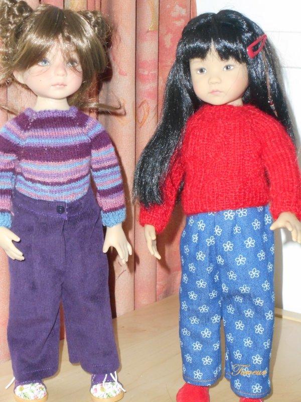 petits pulls pour Elise et Kaliska  Dscn0935