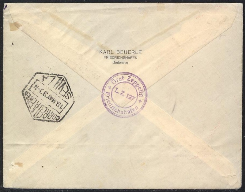nach - Südamerikafahrt 1930, Post nach Rio de Janeiro - Seite 2 57_a_b11