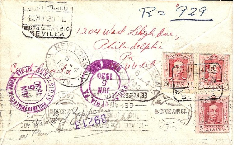 Südamerikafahrt 1930, Post nach Rio de Janeiro - Seite 2 57_i_w11