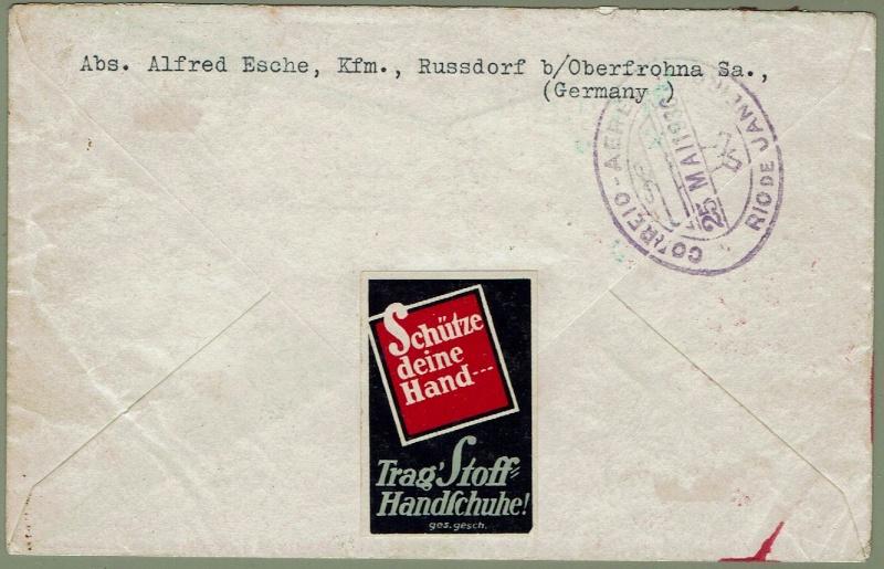 nach - Südamerikafahrt 1930, Post nach Rio de Janeiro - Seite 2 57_t_s11