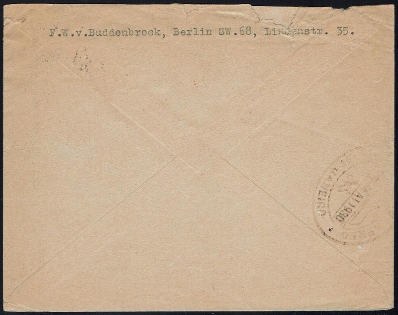 nach - Südamerikafahrt 1930, Post nach Rio de Janeiro - Seite 2 58_adc11