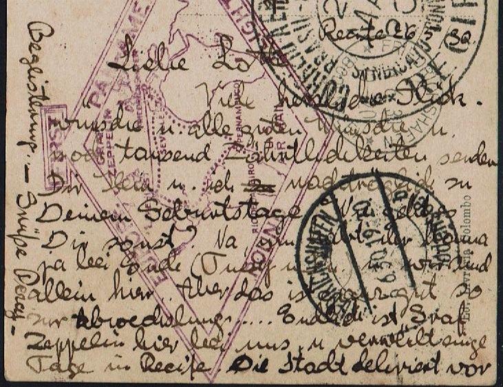 """nach - Südamerikafahrt 1930 (Rundfahrt-) Post nach Friedrichshafen"""" - Seite 6 59_a_r12"""