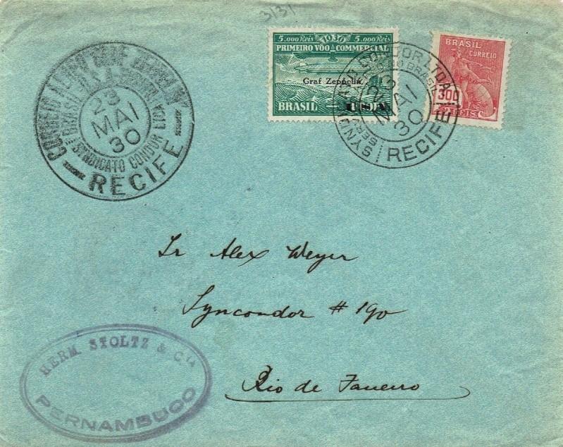 nach - Südamerikafahrt 1930, Post nach Rio de Janeiro - Seite 2 59_a_r13