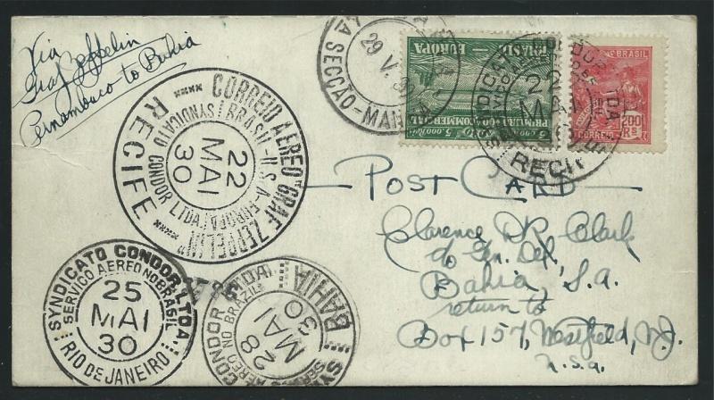 nach - Südamerikafahrt 1930, Post nach Rio de Janeiro - Seite 2 59_a_r14