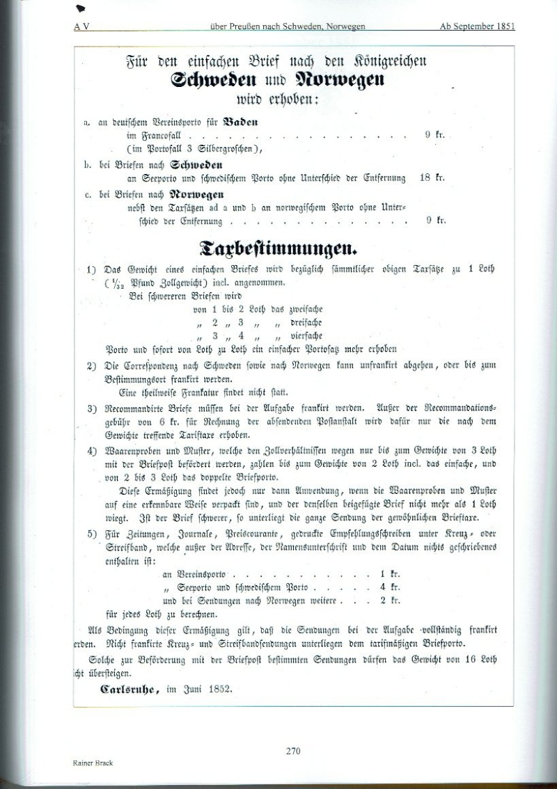 nach - Auslandspost nach Altdeutschland Auslan10