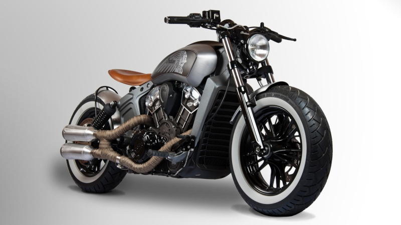 Concours Indian Scout 110