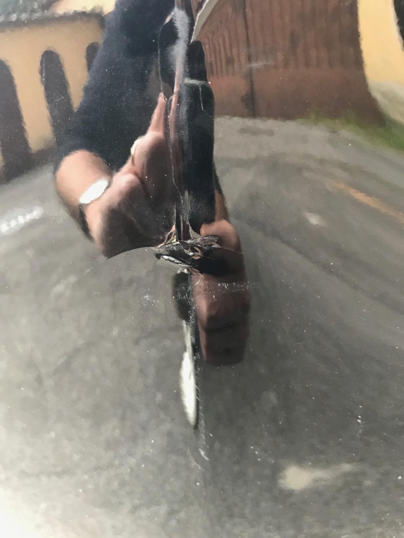 Cofano rovinato dopo pioggia Img_9511