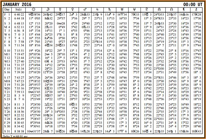 Aspects du mois de Janvier - Page 3 Epheme11