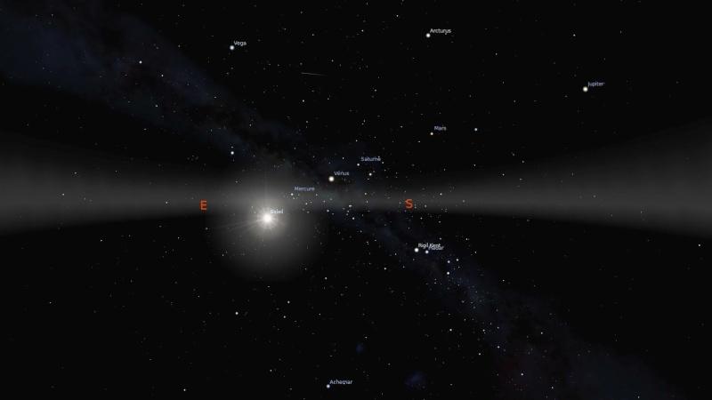 Planètes alignées dans le ciel Image26