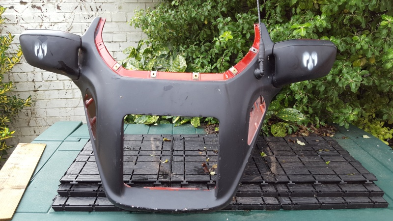 K75 RT upper fairing 20151210