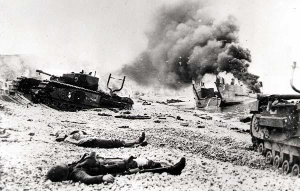 les canadiens pendant la seconde guerre mondiale C-014110