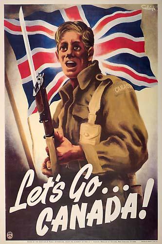 les canadiens pendant la seconde guerre mondiale Letsgo10