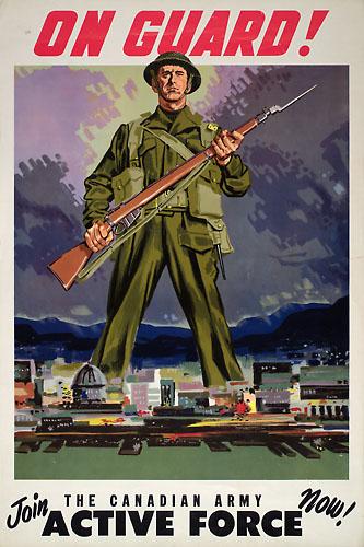les canadiens pendant la seconde guerre mondiale Onguar10