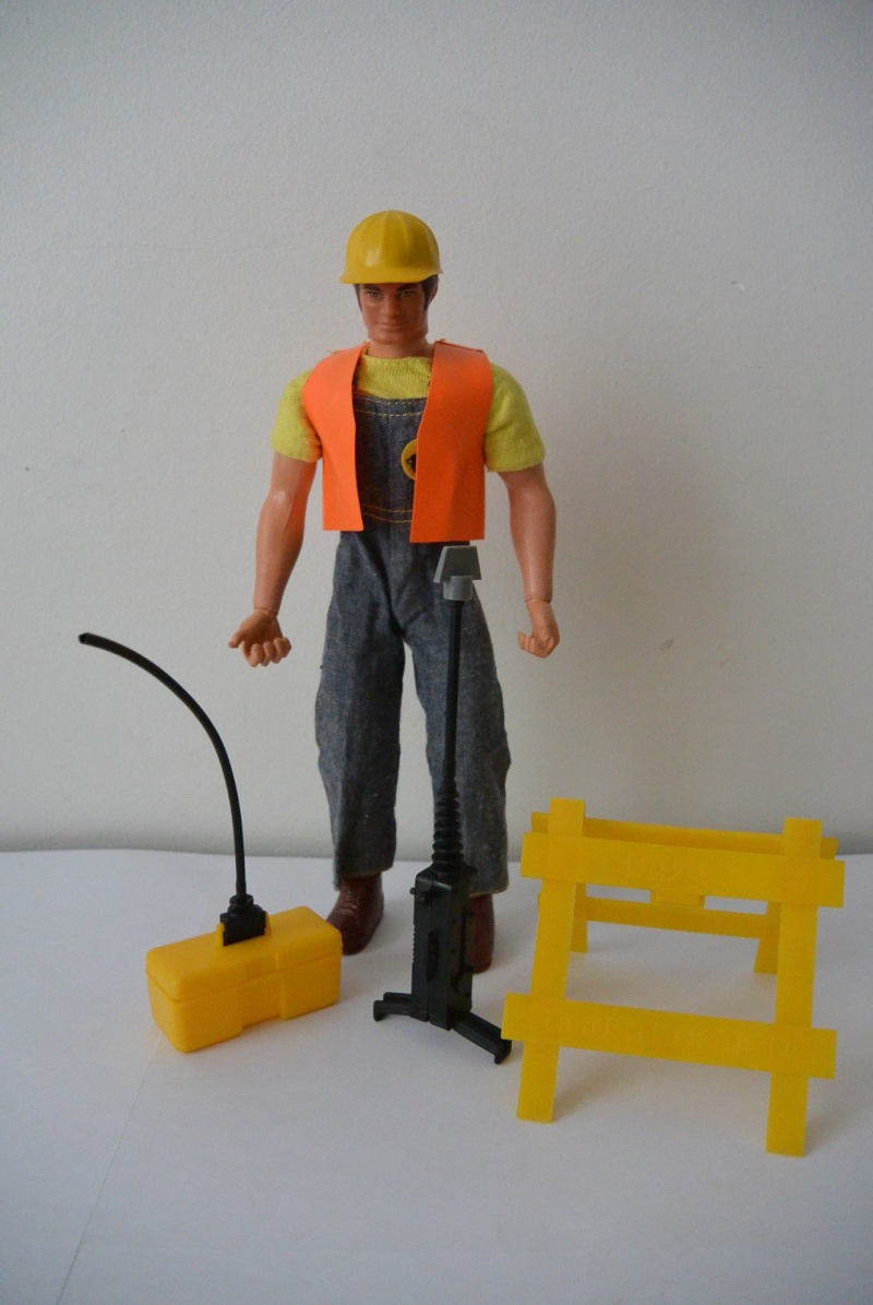 "Big Jim's P.A.C.K. Double trouble adventure sets ""Hard hat Gunner""  No. 9341 _5781"
