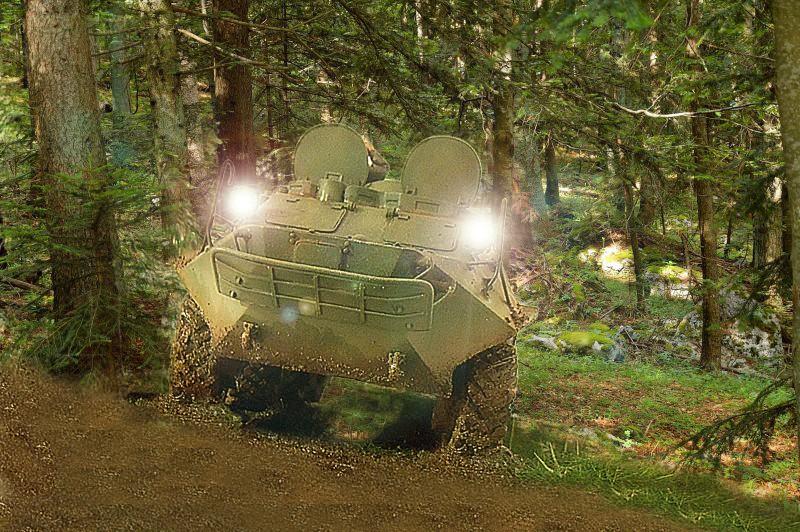 BTR 60 APC ( verlinden  1/35eme ) - Page 4 Patros16