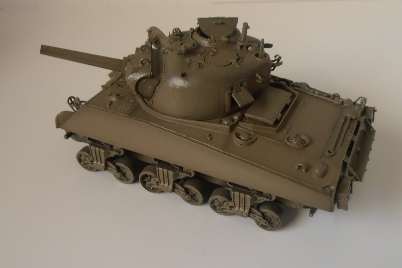 "Sherman M4 105mm "" La Marne "" ( Tamiya et conversion ? au 1/35eme ) Pb210610"