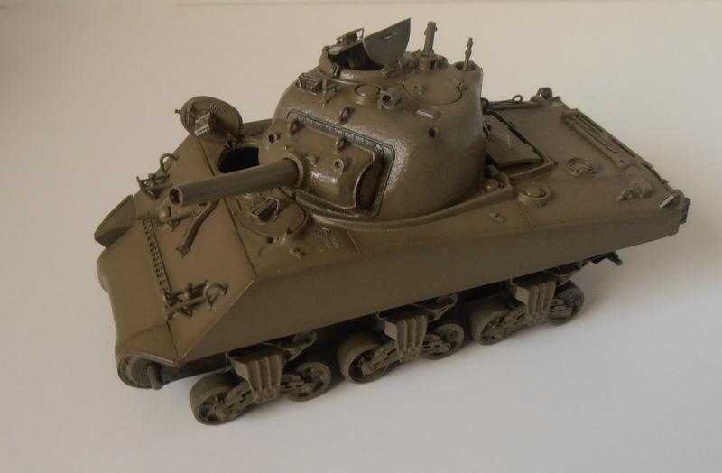 "Sherman M4 105mm "" La Marne "" ( Tamiya et conversion ? au 1/35eme ) Pb210611"