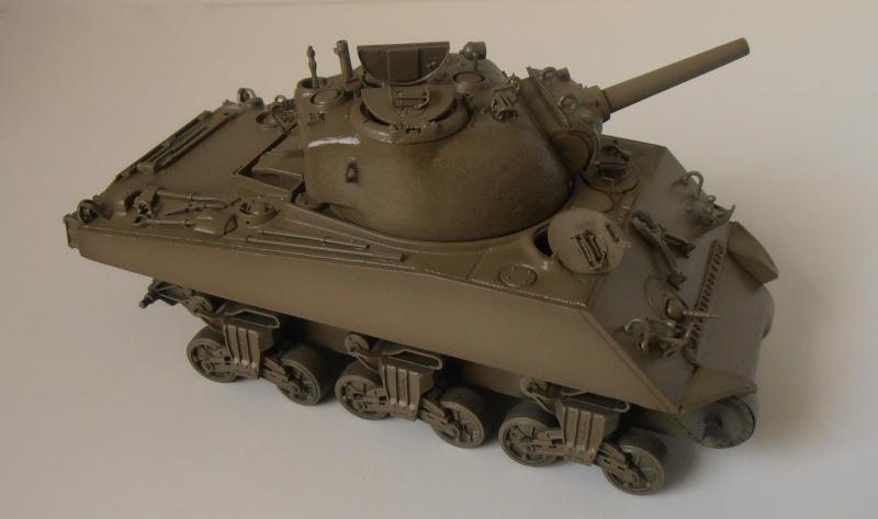 "Sherman M4 105mm "" La Marne "" ( Tamiya et conversion ? au 1/35eme ) Pb210612"
