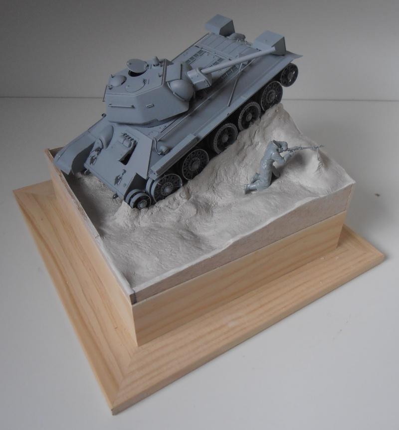 "T-34 "" K.O "" ( Tamiya, Dragon au 1/35eme ). Pb250813"