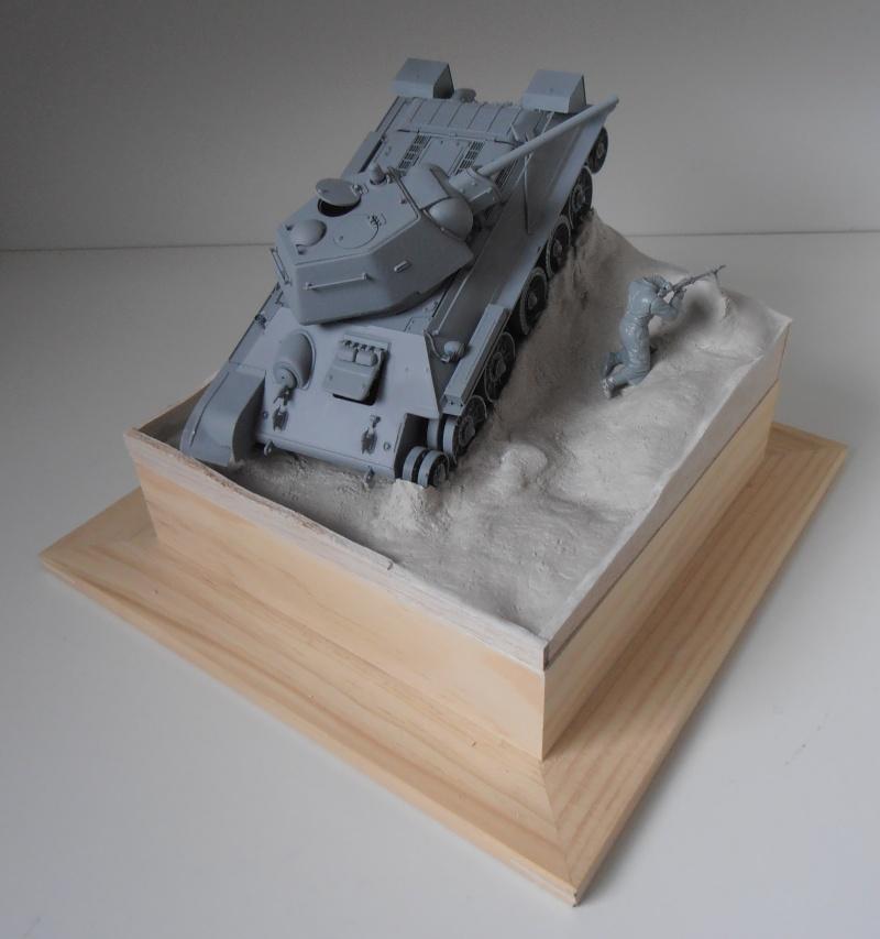 "T-34 "" K.O "" ( Tamiya, Dragon au 1/35eme ). Pb250815"